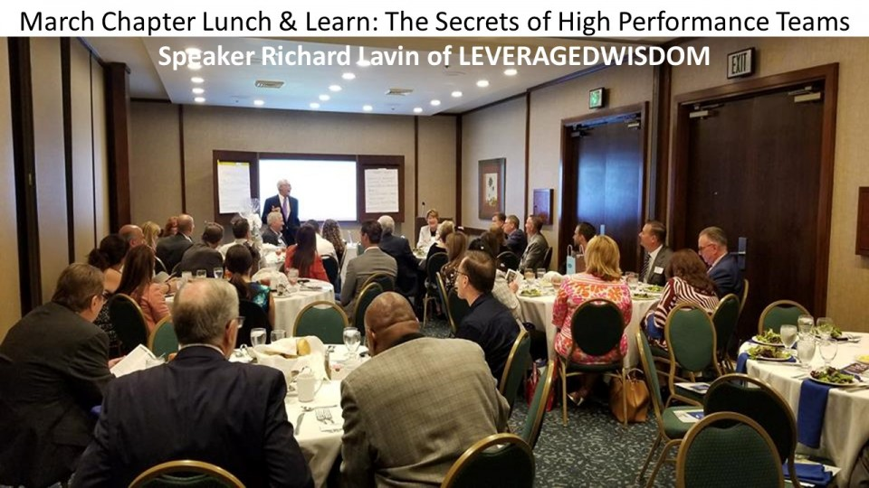Richard Lavin of LEVERAGEDWISDOM presents at March meeting